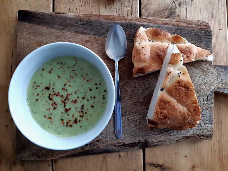 courgette soep zucchini soup