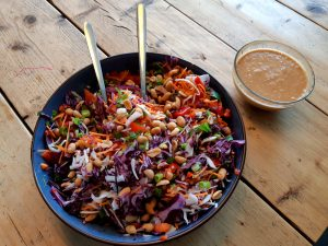 thai salad delicious dressing homemade
